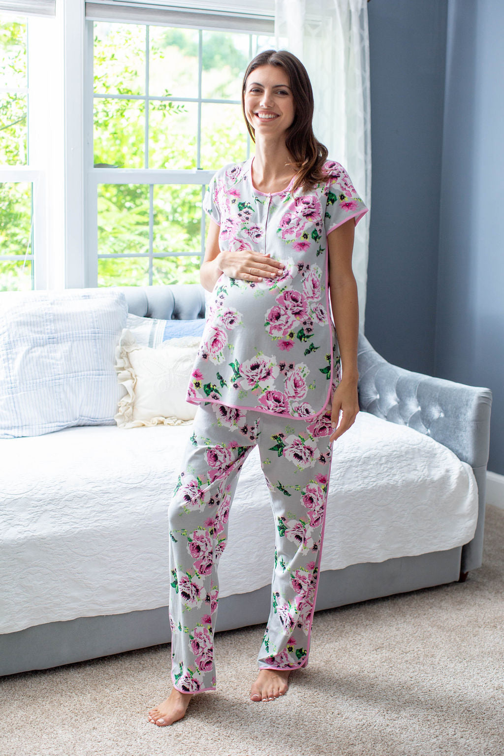 Olivia Mommy & Me Matching PJ Sets