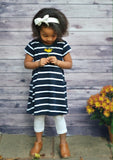 Navy Stripe Girl Play Dress