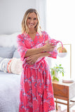 Rose Delivery Robe & Swaddle Blanket Set