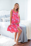 Rose Maternity Delivery & Matching 3 in 1 Labor Gown