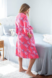 Rose Maternity Delivery Robe