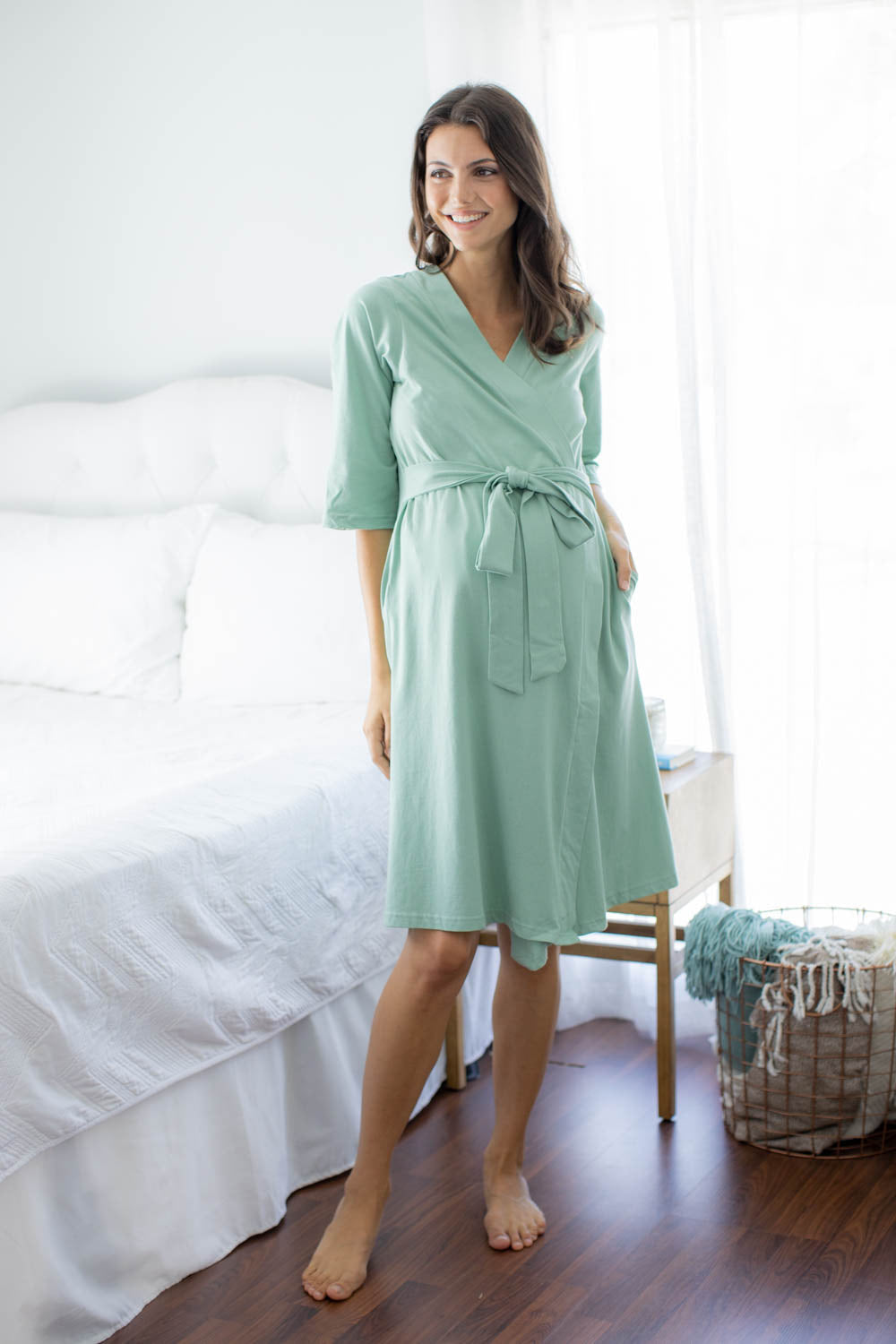 Sage Delivery Robe