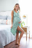 Sage 3 in 1 Maternity Labor & Delivery Nursing Gown
