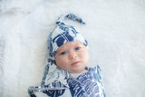 Serra Delivery Robe & Swaddle Blanket Set