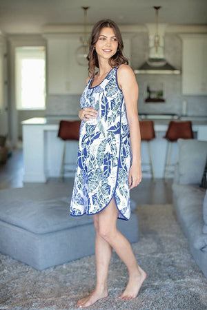 Serra Racerback Maternity Nursing Nightgown