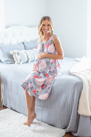 Sophie Delivery Robe & 3 in 1 Labor Gown Set