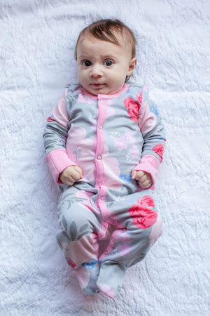 Sophie Baby One Piece Footed Romper