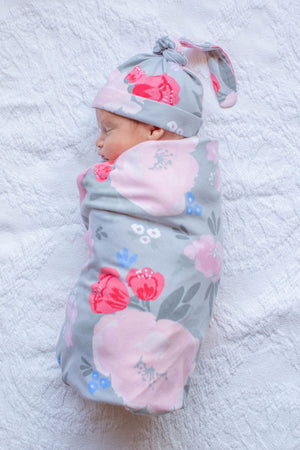 Sophie Delivery Robe & Swaddle Blanket Set