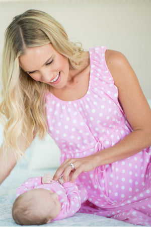 Molly 3 in 1 Labor Gown & Baby Gown Set