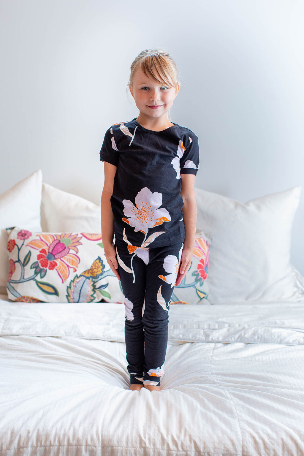 Willow Maternity Nursing Pajamas & Big Sister Pajamas