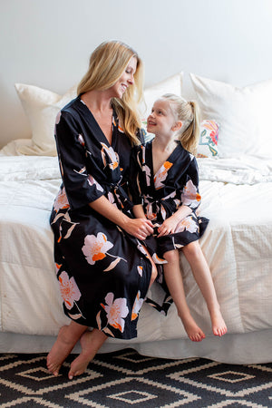 Willow Girl & Mommy Robe