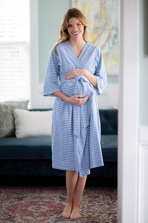 Zoe Stripe Delivery Robe