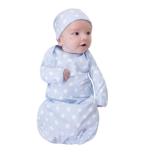 Nicole 3 in 1 Labor Gown & Baby Gown Set
