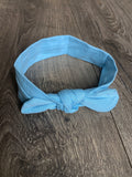 Light Blue Baby Headband