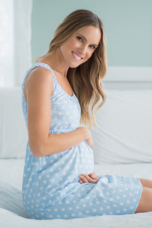 Nicole 2 in 1 Maternity Nursing Nightgown