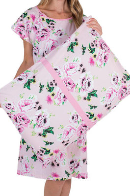 Amelia Floral Pillowcase For Your Hospital Bag