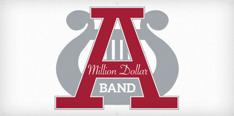 Million Dollar Band Vintage Logo Banner