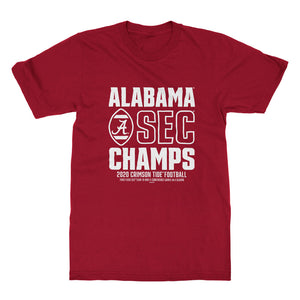 YOUTH Alabama Football SEC Champs 2020