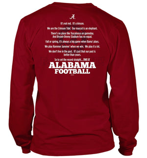 Alabama Set the Record Straight