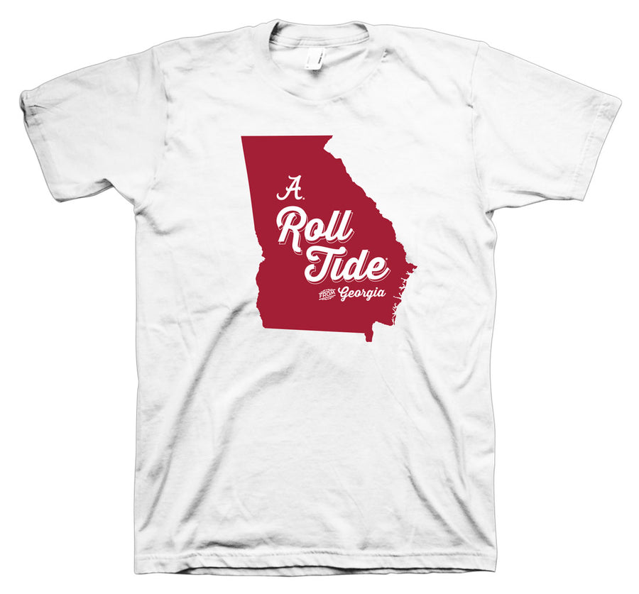 Roll Tide from Georgia