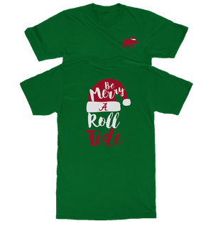 Be Merry & Roll Tide - Green