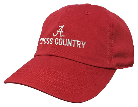Alabama Cross Country Crimson Cap
