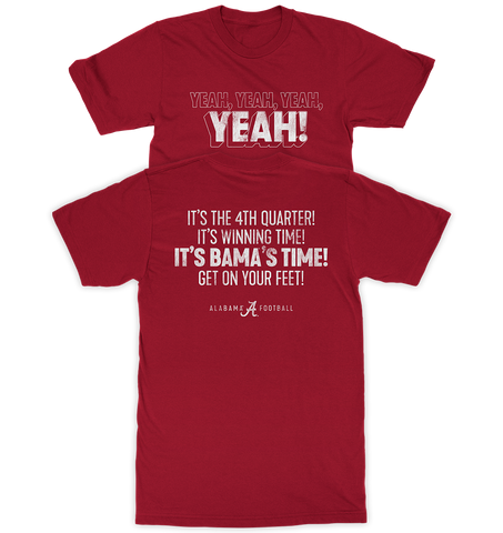 Yeah! It's Bama's Time!