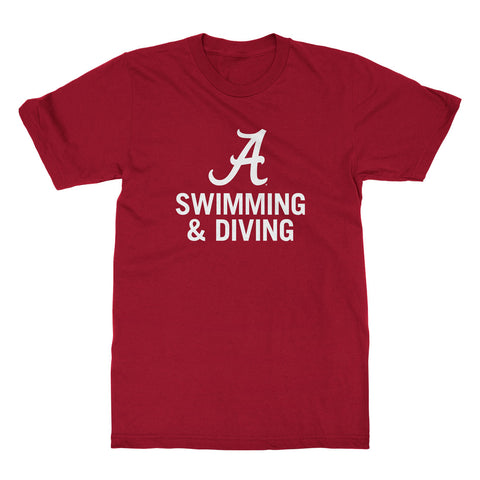 Alabama Swimming & Diving T-shirt