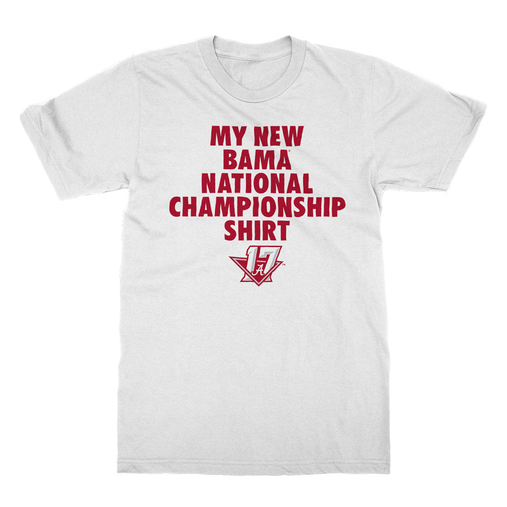 Nc 2017 my new bama nc shirt the crimson locker Alabama sec championship shirt