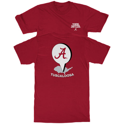 Tuscaloosa Location Pin