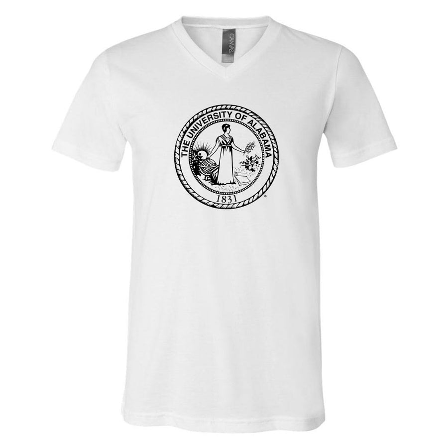 School Seal Unisex Jersey V-Neck Tee