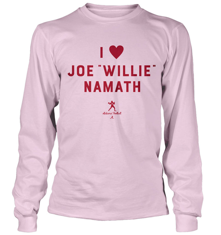 I Heart Joe Willie Namath
