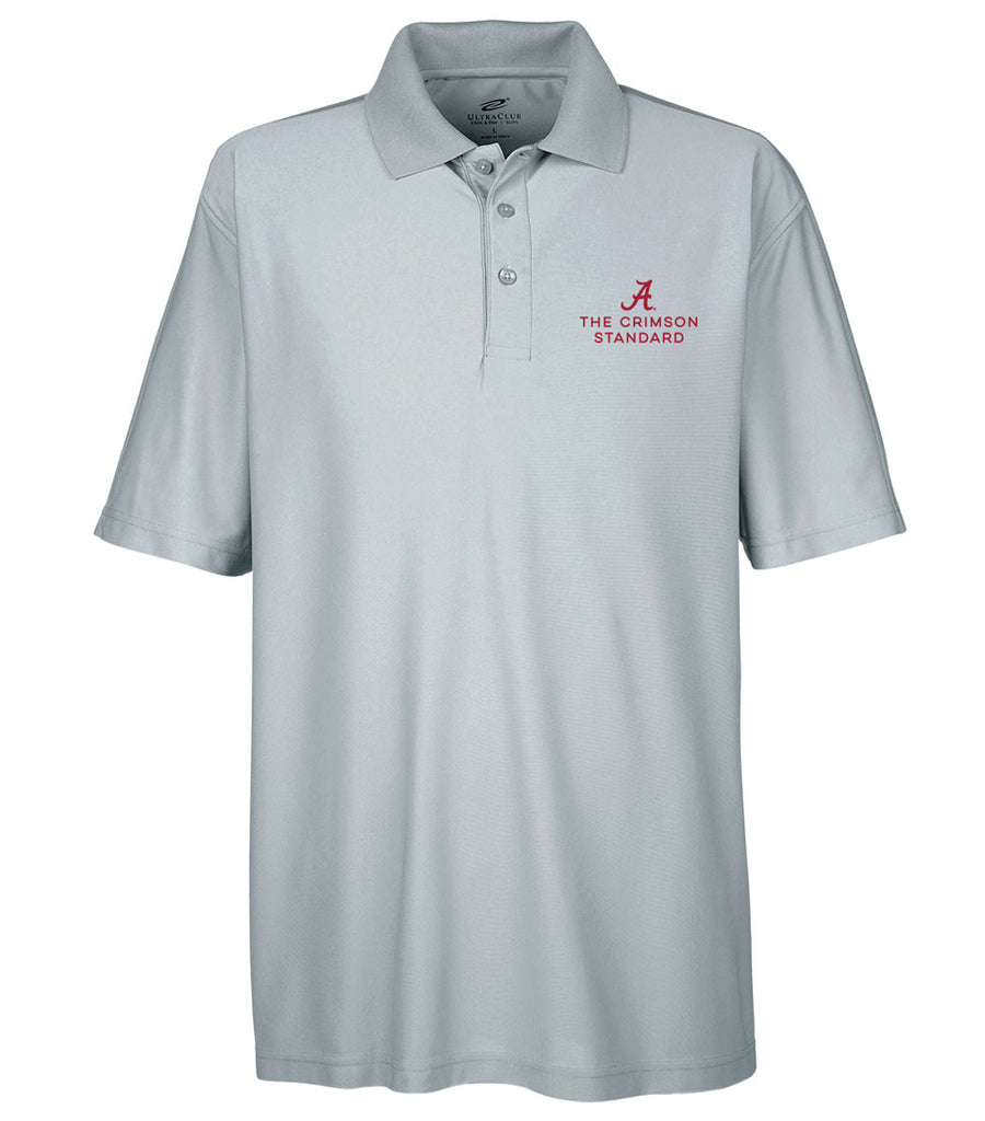 The Crimson Standard Men's Performance Golf Shirt