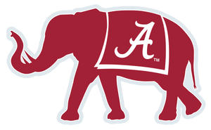 Alabama Elephant Decal