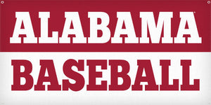 Alabama Baseball - 3ft x 6ft