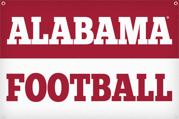 Alabama Football - 2ft x 3ft