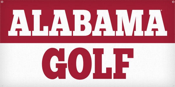 Alabama Golf - 3ft x 6ft