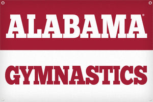 Alabama Gymnastics - 2ft x 3ft