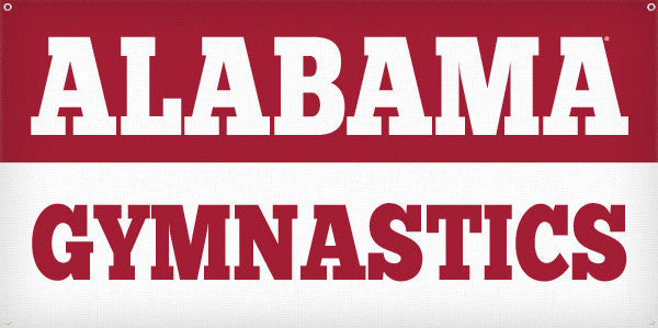 Alabama Gymnastics - 3ft x 6ft