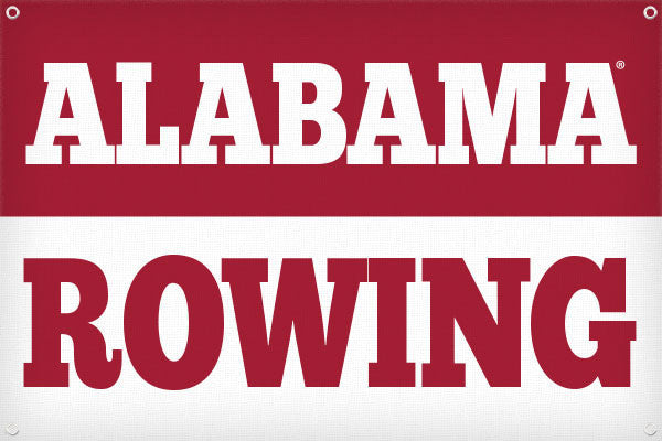 Alabama Rowing - 2ft x 3ft