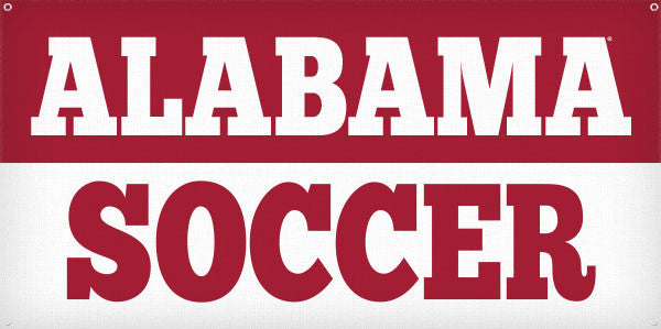 Alabama Soccer - 3ft x 6ft
