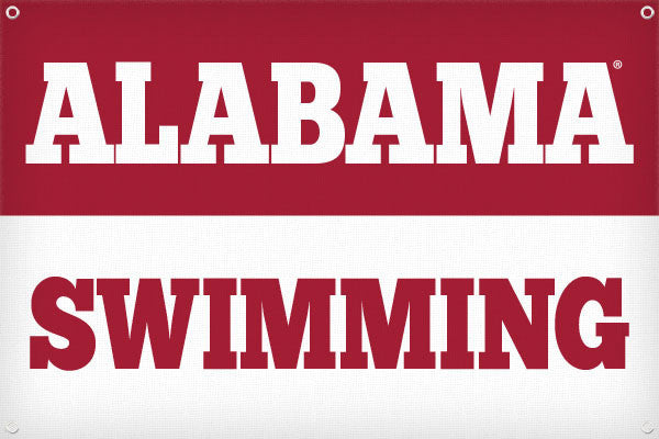 Alabama Swimming - 2ft x 3ft