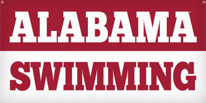 Alabama Swimming - 3ft x 6ft