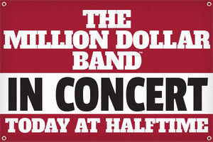 Million Dollar Band In Concert - 2ft x 3ft
