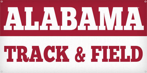 Alabama Track & Field - 3ft x 6ft