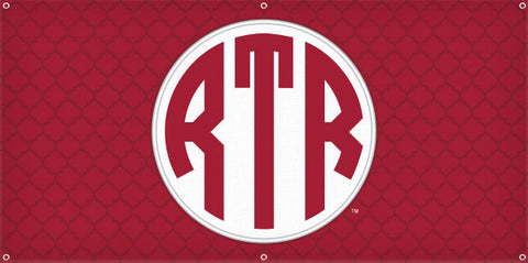 RTR Monogram - 3ft x 6ft