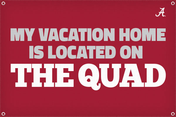 My Vacation Home is on the Quad