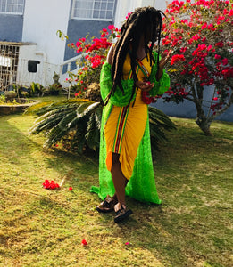RASTA GLOW dress / ETERNAL coverup