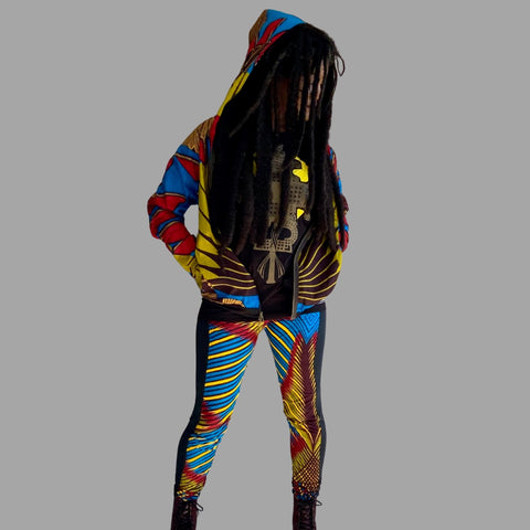 SANKOFA Jacket / ROAD FLEX Pants / ANCIENT Tshirt