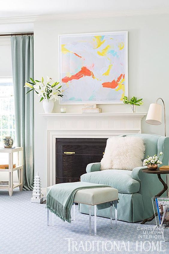 A Pot of Art: How to Mix Styles in a Home
